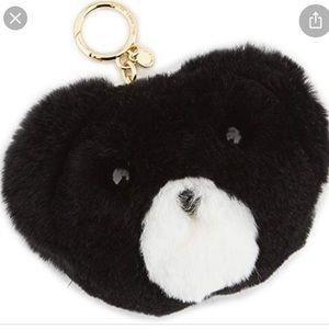 Micheal Kors Teddy Bear 🧸 face keychain